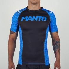 Manto rashguard Victory krótki rękaw czarno niebieski