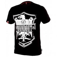Poundout t-shirt Torch czarny