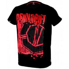 Poundout t-shirt Dill czarno czerwony