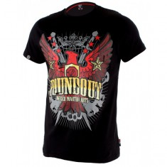 Poundout t-shirt Flame czarny