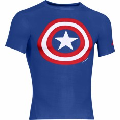Under Armour Alter Ego Compression Shortsleeve Capitan America