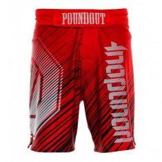 Poundout spodenki do MMA Balde czerwone