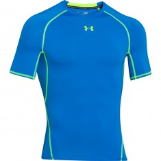 Under Armour HeatGear Compression shortsleeve niebieski