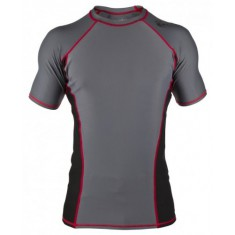 Clinch Gear rashguard Signature Tech Top Shortsleeve szary