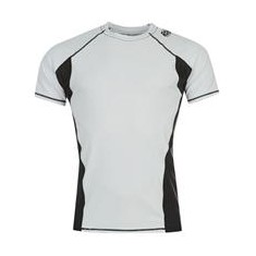 Clinch Gear rashguard Flex Tech Top Shortsleeve biały