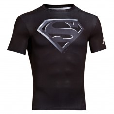 Under Armour Alter Ego Compression Shortsleeve Superman czarny