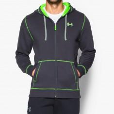 Under Armour bluza Storm Terminator full zip czarno/zielona