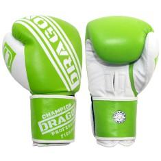 Dragon rękawice bokserskie Champion zielone 14oz