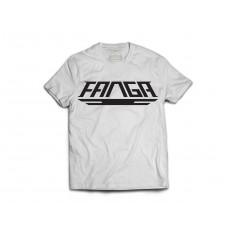 Fanga t-shirt Logo biały