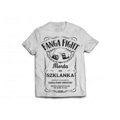 Fanga t-shirt Label biały