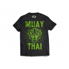 Fanga t-shirt Thai Tiger czarny